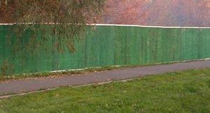 Забор деревянный для временных ограждений, строительных площадок высота 2 метра