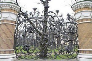 Кованый забор и кованая ограда Киев