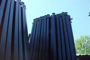 Заказать металлические столбы