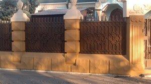 Заборы из металла в Киеве