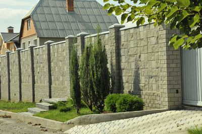 Заборы ограждения в Киеве