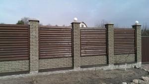 забор из дерева низкие цены