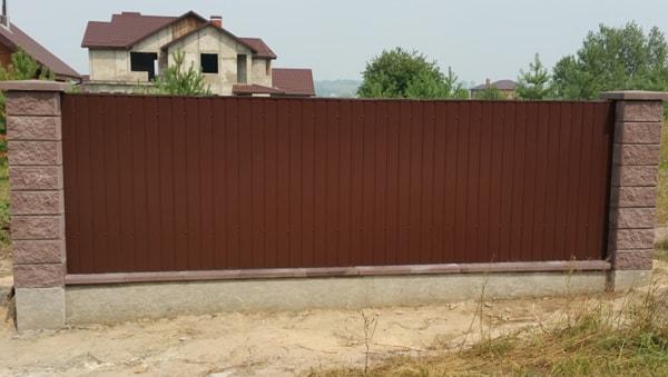 Забор из колотых блоков ТМ Золотой Мандарин недорого