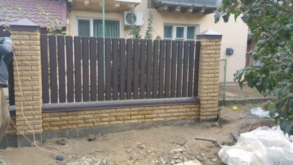 купить комбинированный забор