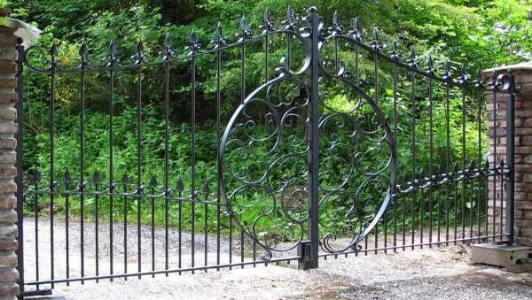 Ворота с калиткой в Киеве заказать