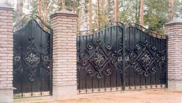 Ворота и калитка в Киеве