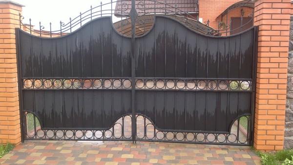 Ворота и калитка в Киеве купить