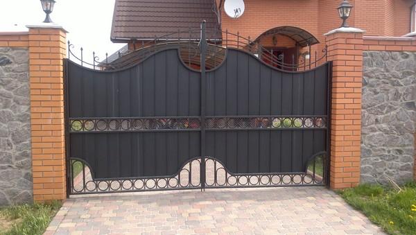 Ворота и калитка в Киеве цена