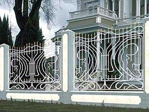 Кованые заборы и ограды купить