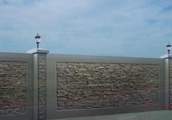 Заборы из бетона в Киеве