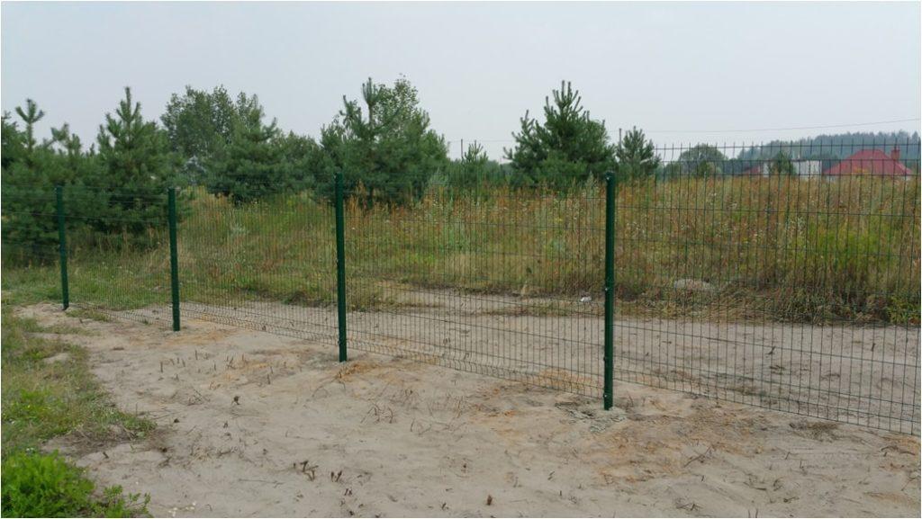 Забор из сварной сетки высотой 1500 мм