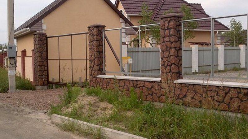 Забор из камня купить