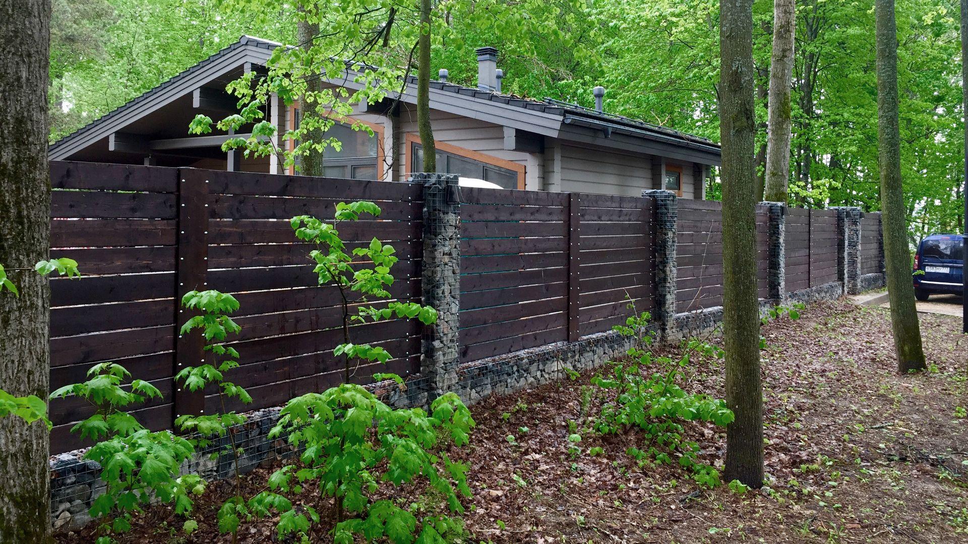 Забор из дерева Киев