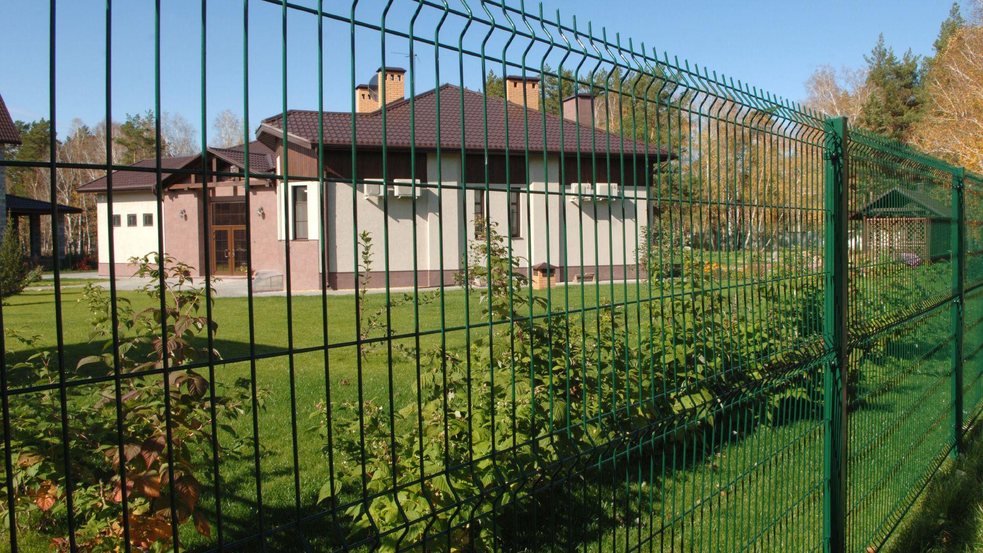Забор из сетки в Киеве