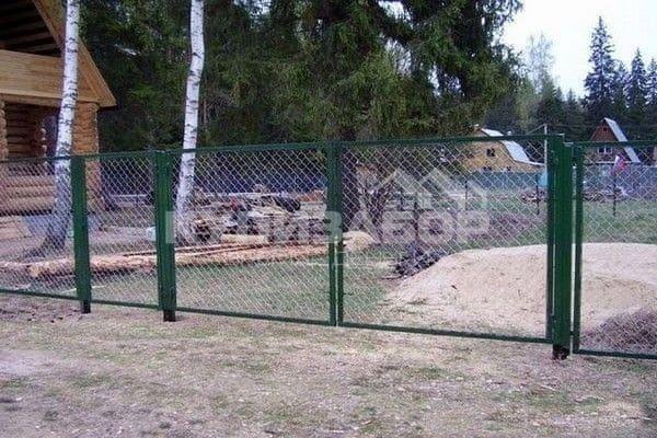 ворота из сетки фото