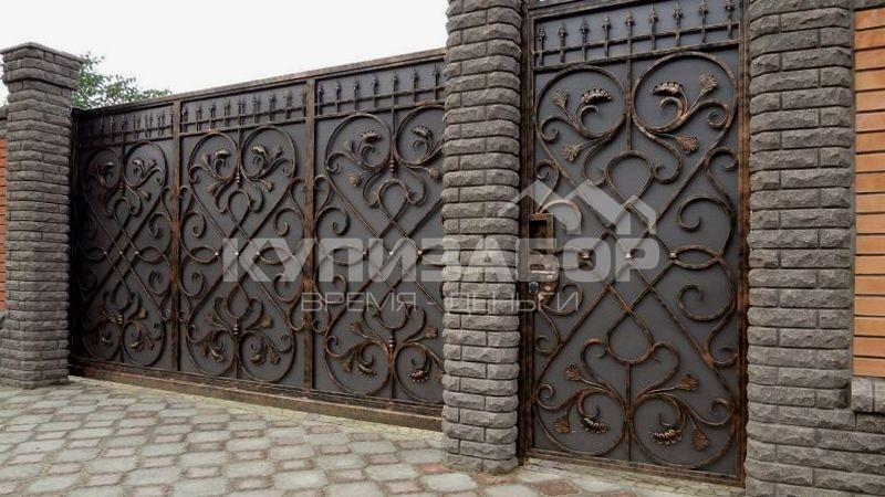 кованные ворота киев
