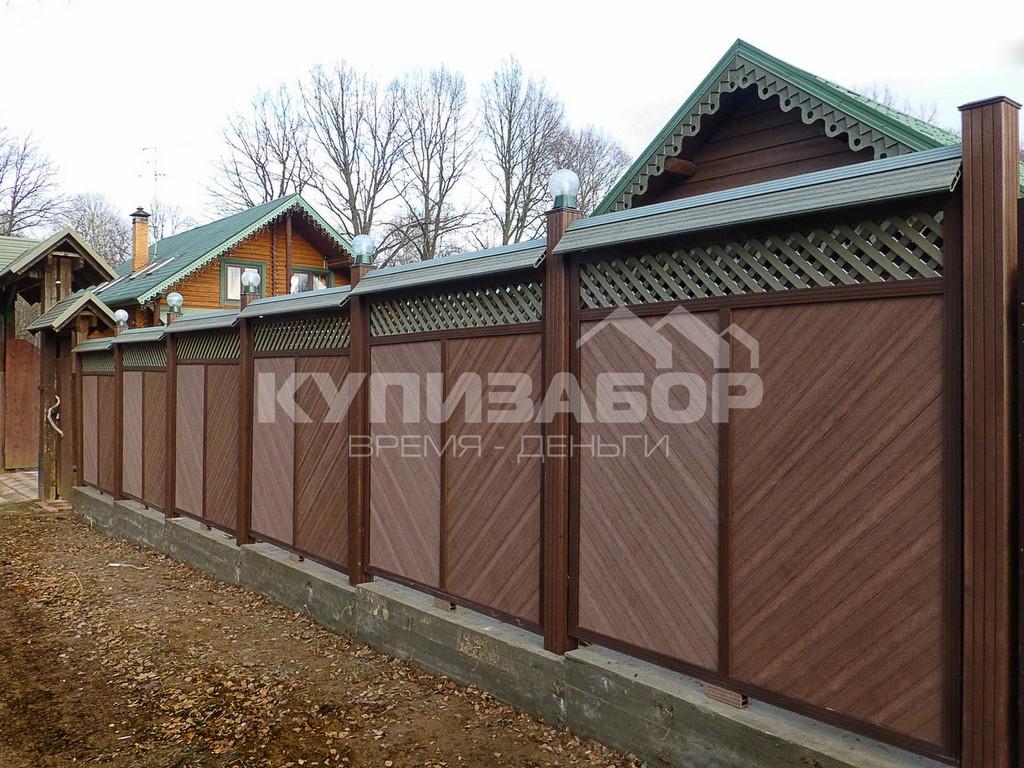 забор из террасной доски киев