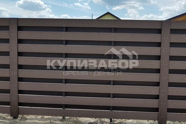 забор из террасной доски цена